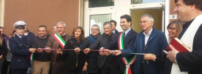 Monteprandone inaugurata la nuova sede clessidra prima for Costo di finestre a clessidra