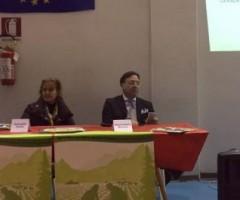 Daniel Ficcadenti, Mauro Mariani e Antonella Cassisi per il progetto della rete scuole Unesco