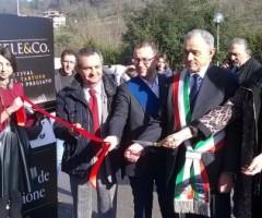 Inaugurazione Truffle&Co. Da sx: Luigi Contisciani, Paolo D'Erasmo, Patrizia Di Luigi, Francesco Leoni, Domenico Pala