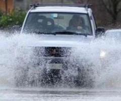 Chiuse strade provinciali per pioggia