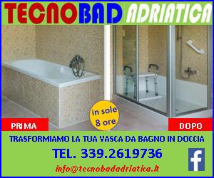 Banner di Tecnobad Adriatica