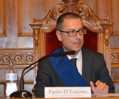 Paolo D'Erasmo durante l'approvazione del rendiconto di gestione