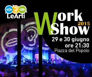Banner del WorkShow 2015 de Le Arti