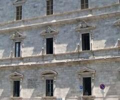 Palazzo San Filippo, dove si è svolta la riunione dell'Ata sui rifiuti