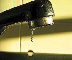 niente acqua - interruzione servizio idrico