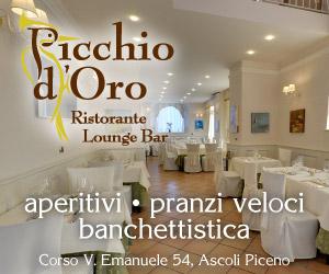 Banner del ristorante Picchio D'oro di Ascoli Piceno