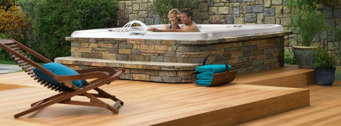 Area wellness in giardino prima pagina online for Vasca per giardino
