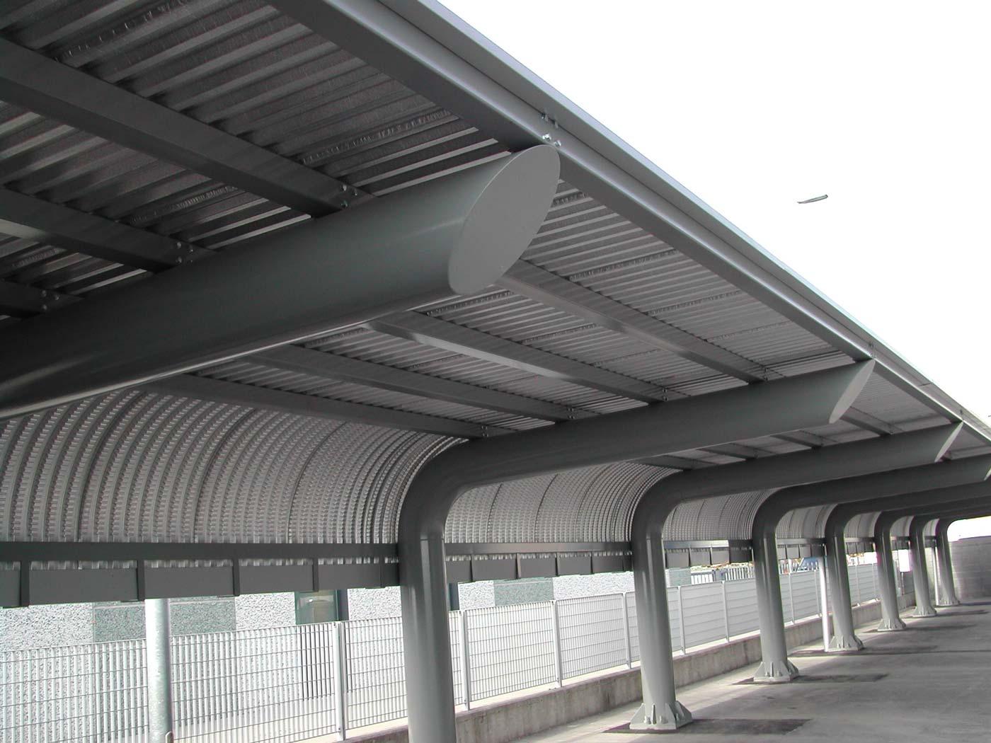 Pensiline e tettoie in ferro prima pagina online for Tettoie in ferro prezzi e offerte