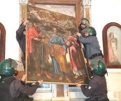 Guardia di Finanza recupero opere d'arte