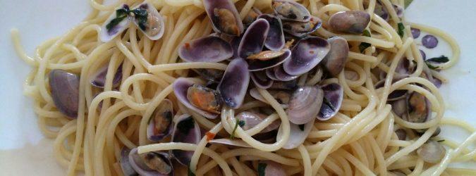 spaghetti con telline
