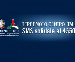 terremoto sms solidali polemiche