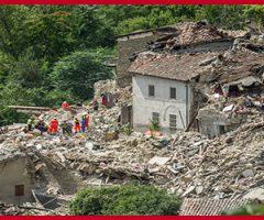 Terremoto e ricostruzione pesante