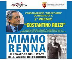 Da Ascoltiamo 2° Premio Costantino Rozzi