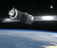 stazione spaziale cinese in caduta
