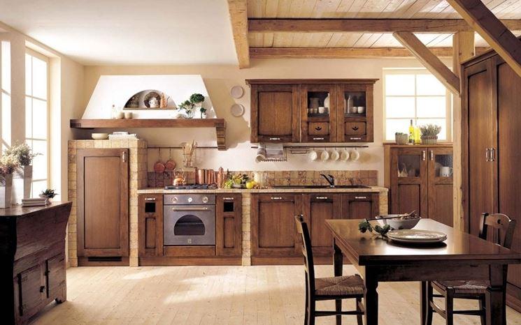 Cucina rustica ecco da dove iniziare prima pagina online for Piani di casa contemporanea rustica