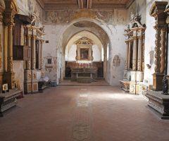 post terremoto - madonna del rosario - chiesa dell'annunziata