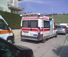 ambulanza Spinetoli