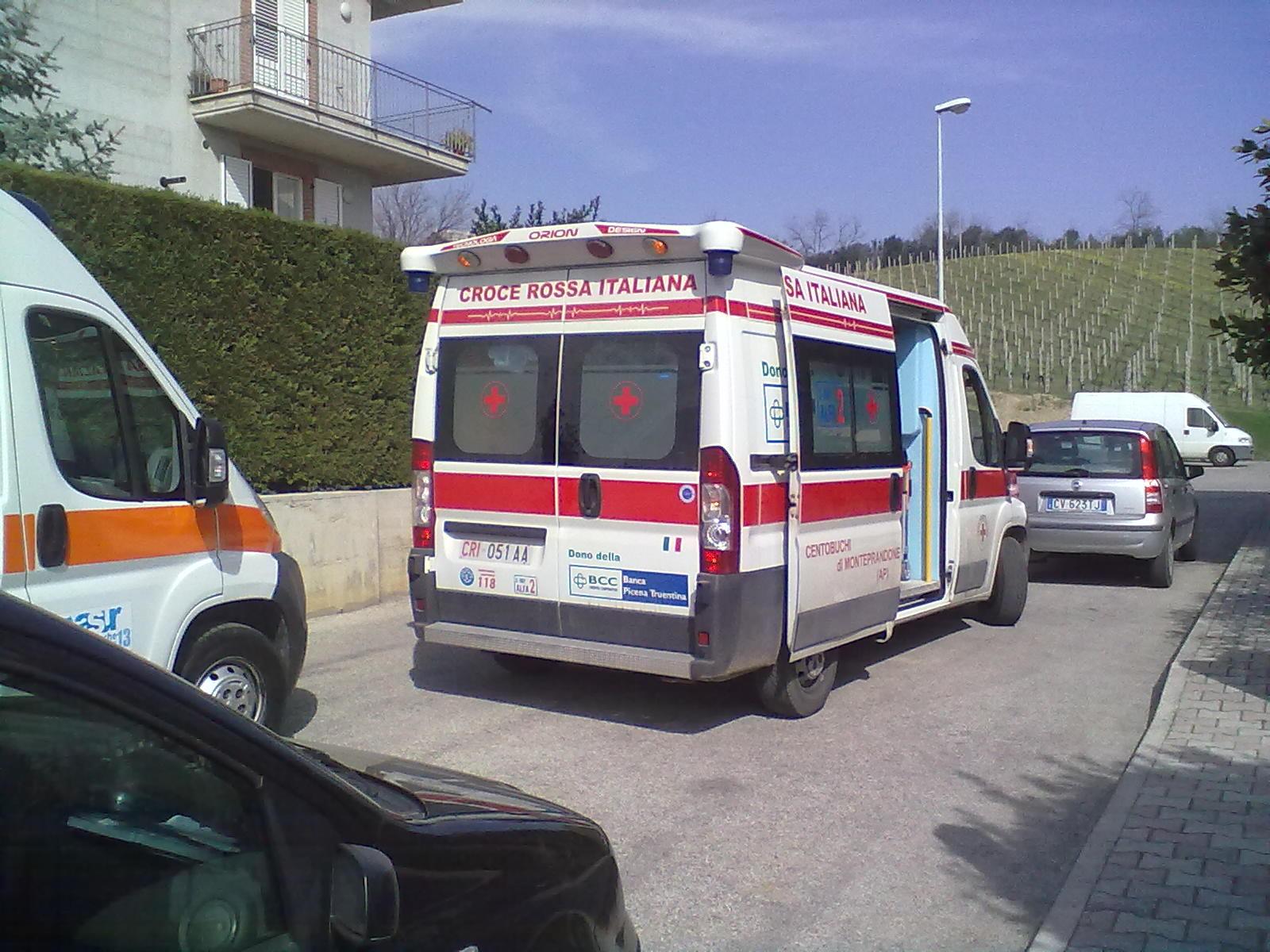 ambulanza Spinetoli