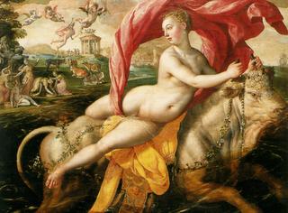 Marten de_Vos_Il_ratto_dEuropa_ca._1590_Bilbao_Museo_delle_Belle_Arti