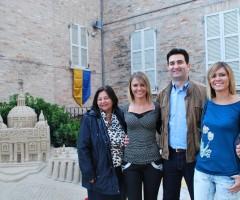 carminucci gemelle e sindaco Stracci Monteprandone
