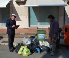Agente Polizia Municipale Luca Petrelli e Consigliere Fernando Gabrielli1