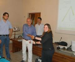 Consegna premio logo Sorgenti Comuni