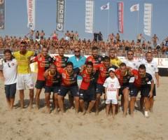 Beach Soccer, Samb contro Terracina ai quarti di finale