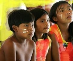 Bambini dell'Amazzonia