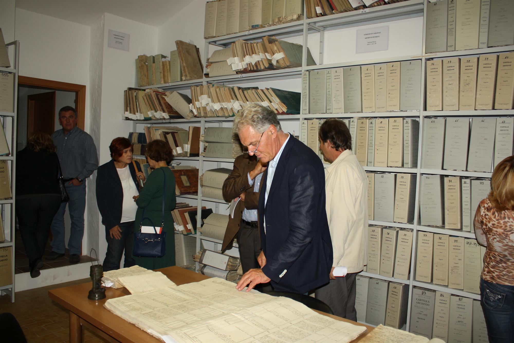 Inaugurato Archivio storico Carassai