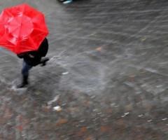 pioggia maltempo generica sfuocata