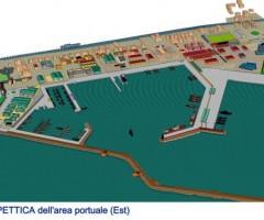Piano Regolatore del Porto rendering