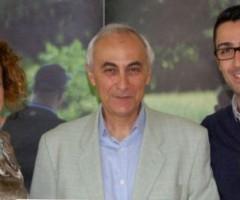 L'Oasi La Valle riceve il riconoscimento di Centrodi Educazione Ambientale. Presenti l'assessore al Comune di Spinetoli Maria GIuseppina, Alfredo Fermanelli della Regione Marche e il dottor Poli della copperativa Il Picchio. Ballatori