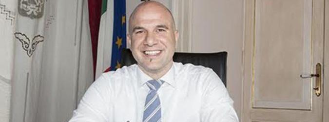 Il sindaco di Offida Valerio Lucciarini, ora anche presidente dell'Unione dei Comuni Vallata del Tronto