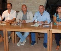 Presentato il festival Ciborghi. Presenti Antonella Nonnis, Domenico Gentili, Valerio Lucciarini, Mario Sergiacomi, Isabella Bosano, Piero Antimiani