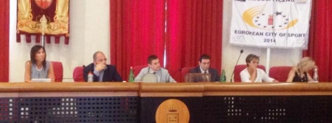 Il sindaco Castelli in Consiglio