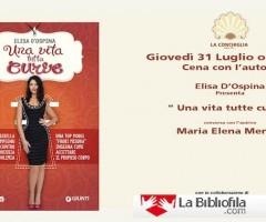 Elisa D'Ospina presenta Una vita tutta curve