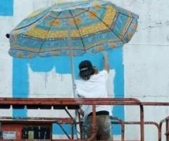 Intervista allo street artist Alberonero, che ha realizzato un'opera a Offida