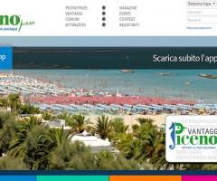L'homepage di Piceno Pass