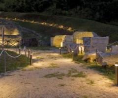 """Il teatro romano di Ascoli Piceno dove si svolgerà lo spettacolo """"Le 12 fatiche di Ercole"""""""
