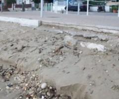 Erosione marina a Grottammare