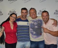 Enzo Iacchetti a Radio Azzurra