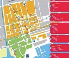 Notte di Mezza Estate, mappa e viabilità