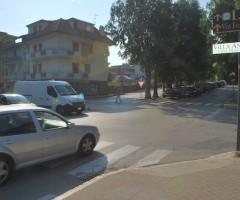 Incrocio via Asiago-viale De Gasperi, chiusura sperimentale