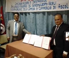 Kebili-Ascoli, accordo Piceno Promozione in Tunisia