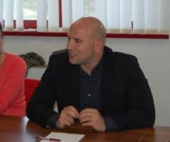 Silvia Fioravanti e Valerio Lucciarini alla conferenza stampa per rispondere alle accuse di Achille Buonfigli del CUP