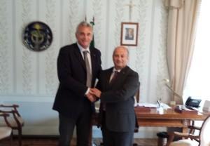 Nuovo presidente Piceno Promozione, Rolando Rosetti