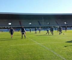 Allenamenti nazionale italiana rugby