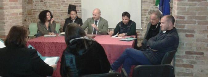 La giunta dell'Unione: Silvia Fioravanti, Alessandro Luciani, Valerio Lucciarini, Francesco Ruggieri, Andrea Cardilli