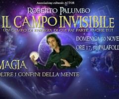 Roberto Palumbo, il campo invisibile