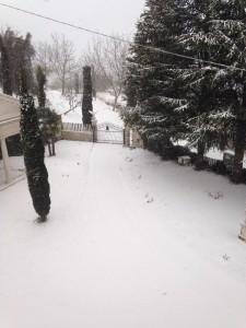 Neve ad Acquasanta 30 dicembre